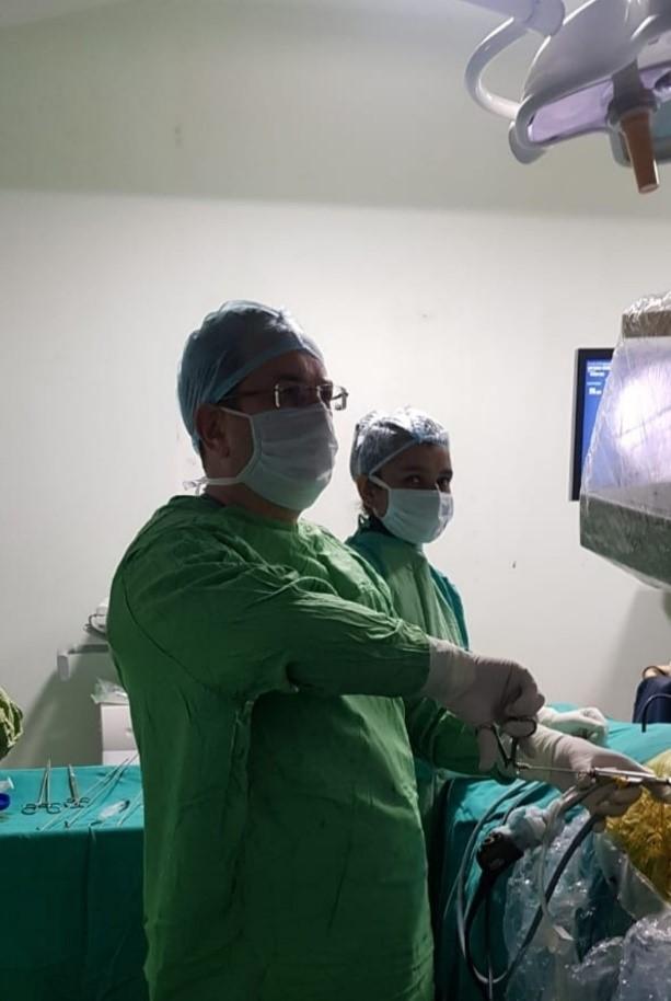 إجراء تنظير القرص Endoscopic Discectomy