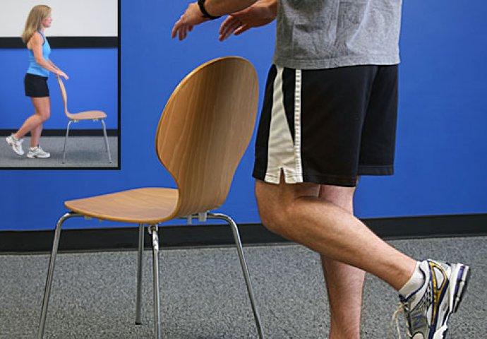 حفظ تعادل با یک پا