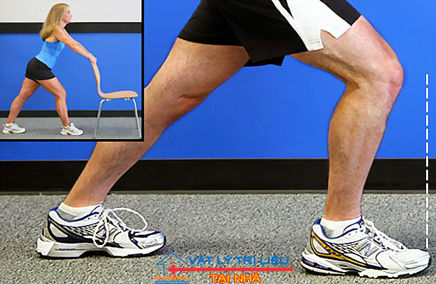کشش عضلات ساق پا