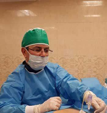 درمان اینترونشنال (جراحی بسته) دیسک با اندوسکوپی و لیزر